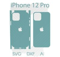 iPhone 12 Pro Full Wrap Skin Cutting Template AI DFX SVG Download  Cricut