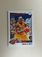 2019-2020 Panini NBA Hoops Basketball Shaquille Shaq O'Neal Tribute Lakers #283