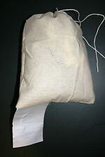 """10 New 8"""" X 10"""" Cloth Mailing Bags with Labling Tag"""