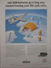 6/1993 PUB SAFT NICKEL CADMIUM AIRCRAFT BATTERIES ULM LOW MAINTENANCE AD