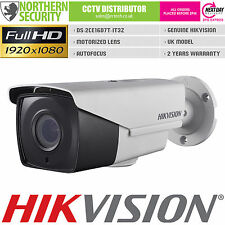 HIKVISION 2MP 1080P HD-TVI TURBO 2.8-12mm MOTORIZED IR BNC CCTV SECURITY CAMERA