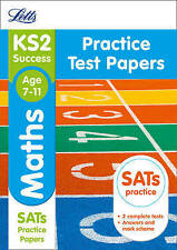 KS2 Maths SATs Practice Test Papers by Letts KS2 (Paperback, 2015)