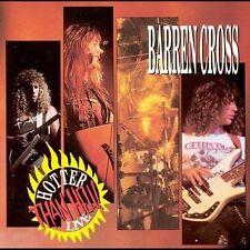 Barren Cross - Hotter Than Hell! Live - 1990 Medusa NEW