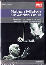DVD Nathan MILSTEIN BOULT: BEETHOVEN Violin Concerto VAUGHAN WILLIAMS Symphony 8