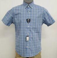 Cremieux Classics Slim Green Multi Checked S/S Men's Shirt NWT $79.50 Choose Sz