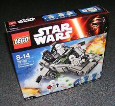 STAR WARS LEGO 75100 FIRST ORDER SNOWSPEEDER B-STOCK BRAND NEW SEALED