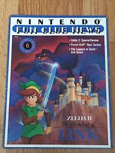 nintendo fun club news volume 2 april/May 1988 zelda II