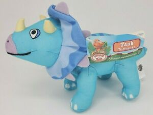 Dinosaur Train Tank Triceratops Plush Toy Figure Jim Henson PBS Kids Stuffed NEW