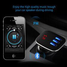 4 in 1 Car Kit Handsfree LCD MP3 Player FM Transmitter Wireless Bluetooth USB/SD