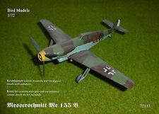 Messerschmitt Me 155 B       1/72 Bird Models Resinbausatz / resin kit