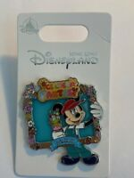 HKDL Hong Kong Ice Cream Fantasy Mickey Mouse Picture Frame Disney Pin (B)