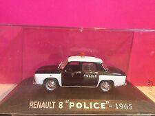 SUPERBE RENAULT 8 POLICE 1965  NEUF EN BOITE 1/43 E6