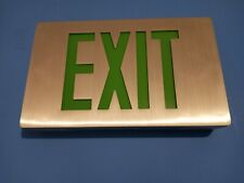 Evenlite Exit Sign Series Ccds Green Letters Aluminum New Type 2