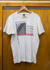 """Vintage T-Shirt Nirvana """"You Know You're Right"""" Lyrics Dead Flowers"""