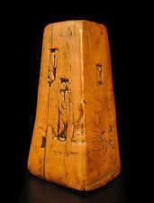 """""""L'Amour"""" bougeoir en compression Sculpture c 1960 """"Love"""" candlestick sig I Moer"""