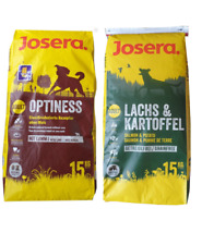 15kg Josera Nature Lachs & Kartoffel + 15kg Josera Optiness Hundefutter