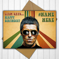 Sargent Pepper Beatles Personalised Handmade Carte toutes occasions anniversaire ouvert