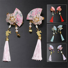 Ancient Chinese Girls Hairpin Tassel Handcraft HairPin Clip Accessories Nice