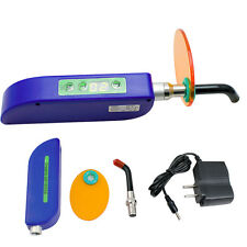 Best Dental 1500mw Wireless Cordless LED Cure Curing Light Lamp for Clinic Lab A