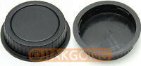 DSLRKIT Rear Lens + Camera body Cover cap for CANON EOS EF EF-S
