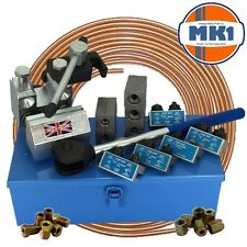 """Professional Brake Pipe Flaring Tool 4.75mm, 3/16"""", 1/4"""", 5/16"""" & 3/8"""" DIN SAE"""