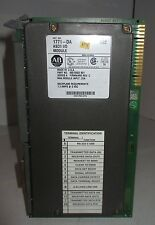 Allen Bradley AB ASCII I/O Module Ser A 1771-DA PLC-5 Programmable Control Inter