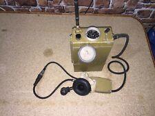 Original Soviet-Russian Military Radio R-392A working