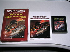 CIB - Night Driver for the Atari 2600 & 7800 - WORKS & GUARANTEED! =