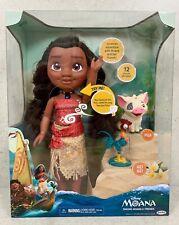 Disney Singing Moana & Friends Adventure Doll Hei Hei & Pua PlaySet - NEW