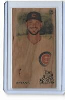 2019 Allen & Ginter Baseball Wood Mini Parallel Kris Bryant Chicago Cubs 1/1 SP