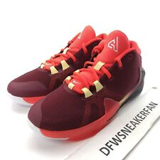Nike Giannis Zoom Freak 1 GS Size 6Y / Women's 7.5 Noble Red BQ5633-600 New