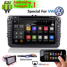 "Android 7.1 2 Din 8"" Car DVD Player GPS NAVI For VW/Passat/POLO/GOLF/Skoda Radio"