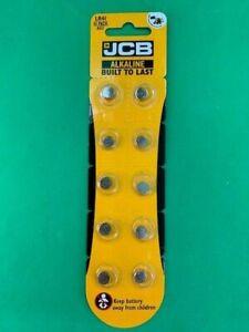 10 X JCB LR41 AG3 SR41 192 392 1.5V ALKALINE COIN CELL BUTTON BATTERIES