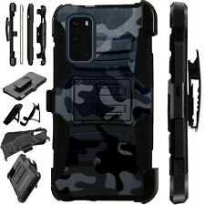Luxguard For Samsung Galaxy S20 Note 10 Holster Phone  Case CAMO BLACK