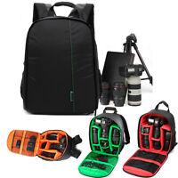 étanche SLR DSLR Caméra Sac à dos Doux étui pour Canon Pour Nikon Pour Sony