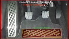 Fußstütze Fußablage Pedal Opel Astra K Edelstahl