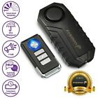 Loud 113dB Wireless Anti-Theft Vibration Motorcycle Bike Security Alarm Remote  <br/> [IP55 WATER RESISTANT][BATTERY INCLUDED][7 LEVEL ALARM]