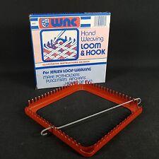 Vintage WNC Deluxe Metal Jersey Loop Hand Weaving Loom #413