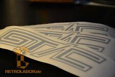 3 GT/C GTC OPEL ASTRA MANTA GTE Look lettrage décor Emblème Logo OPC old school