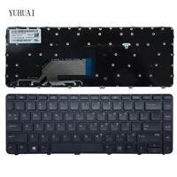 Original New Fit HP Probook 430 G3 440 G3 445 G3 US black keyboard With Frame