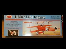 Guillows Kit # 204 Fokker DR-1 Triplane Laser Cut Balsa Model