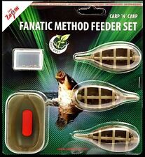Carp Zoom Fanatic Method Feeder Set