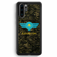 Kasachstan Kazakhstan Camouflage mit Schriftzug Huawei P30 Pro Silikon Hülle ...
