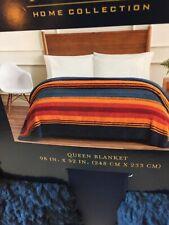 """Pendleton Home Collection Queen Fleece Blanket 98""""X92"""" 100% Polyester NWT"""