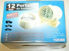 12 Volt Portable Air Cooling 2-Speed Fan - New