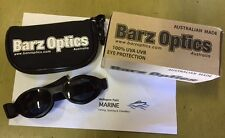 Barz Optics Sunglasses ARFA Black/Grey Polycarbonate Windsurfing goggles