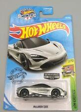 New 2019 Hot Wheels Zamac 014 McLaren 720S (2/10 HW Exotics)