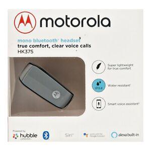 Motorola HK375 Mono Bluetooth Headset True Wireless Earpiece - New in Box