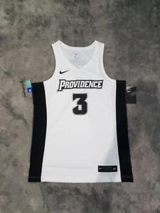 Men's Nike NCAA Providence Friars Replica Basketball Jersey No #3 White