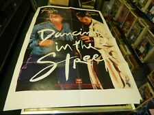 1985 Mick Jagger & David Bowie Dancing in the Street Poster